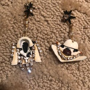 Lunch At The Ritz Jewelry - Vintage Linch At The Ritz pierced Earrings